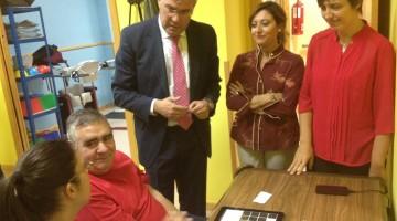 Visita del alcalde a Adacea