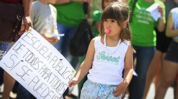 Manifestación contra la LOMCE. Foto: eldiario.es