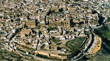 Foto aérea de Úbeda de la Junta de Andalucía.