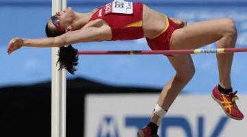 La campeona de Europa, Ruth Beitia, participará en este encuentro de salto de altura