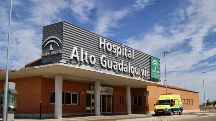 El hombre fue trasladado al hospital Alto Guadalquivir donde ha fallecido.