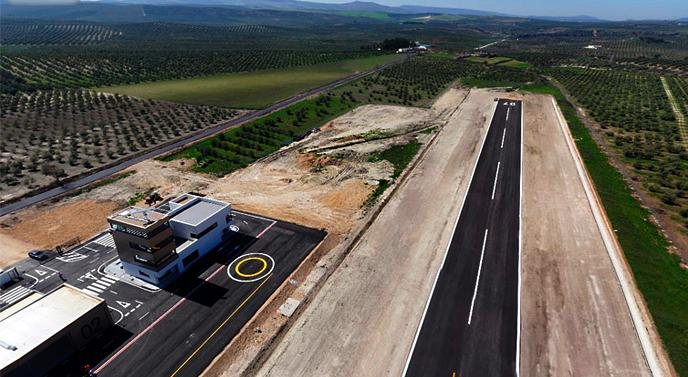 El centro de vuelos experimentales de Villacarrillo será la base operativo de estas aeronaves