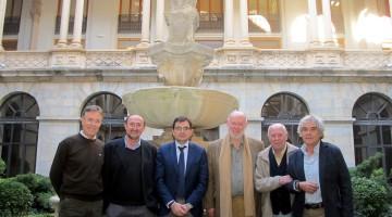 20151203 Foto familia jurado Premio Literatura Noveles - 2