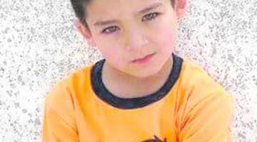 Foto del pequeño Tony que publica en su edición de hoy, Diario Jaén.