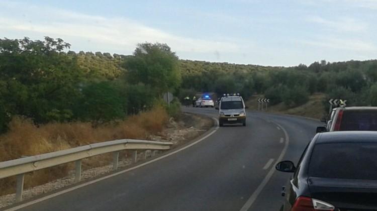 El pasado mes de octubre se produjo la última víctima mortal en este carretera. FOTO: HORAJAÉN