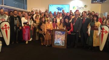 20170121 Promoción de las Fiestas Medievales de Sabiote en Fitur 1