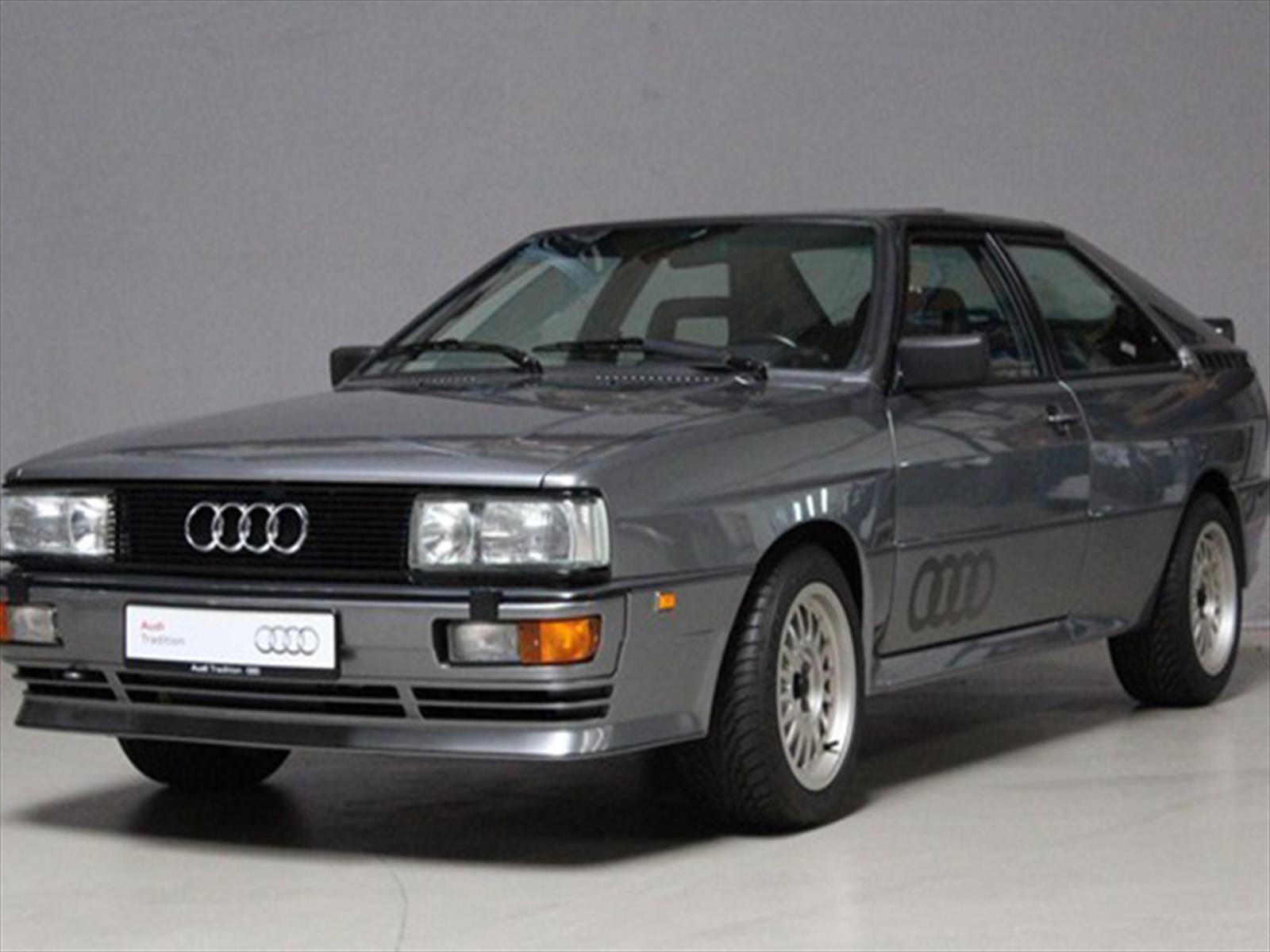 El Audi Quatro marcó la historia por ser un deportivo de altas prestaciones que equipaba tracción a las cuatro ruedas.