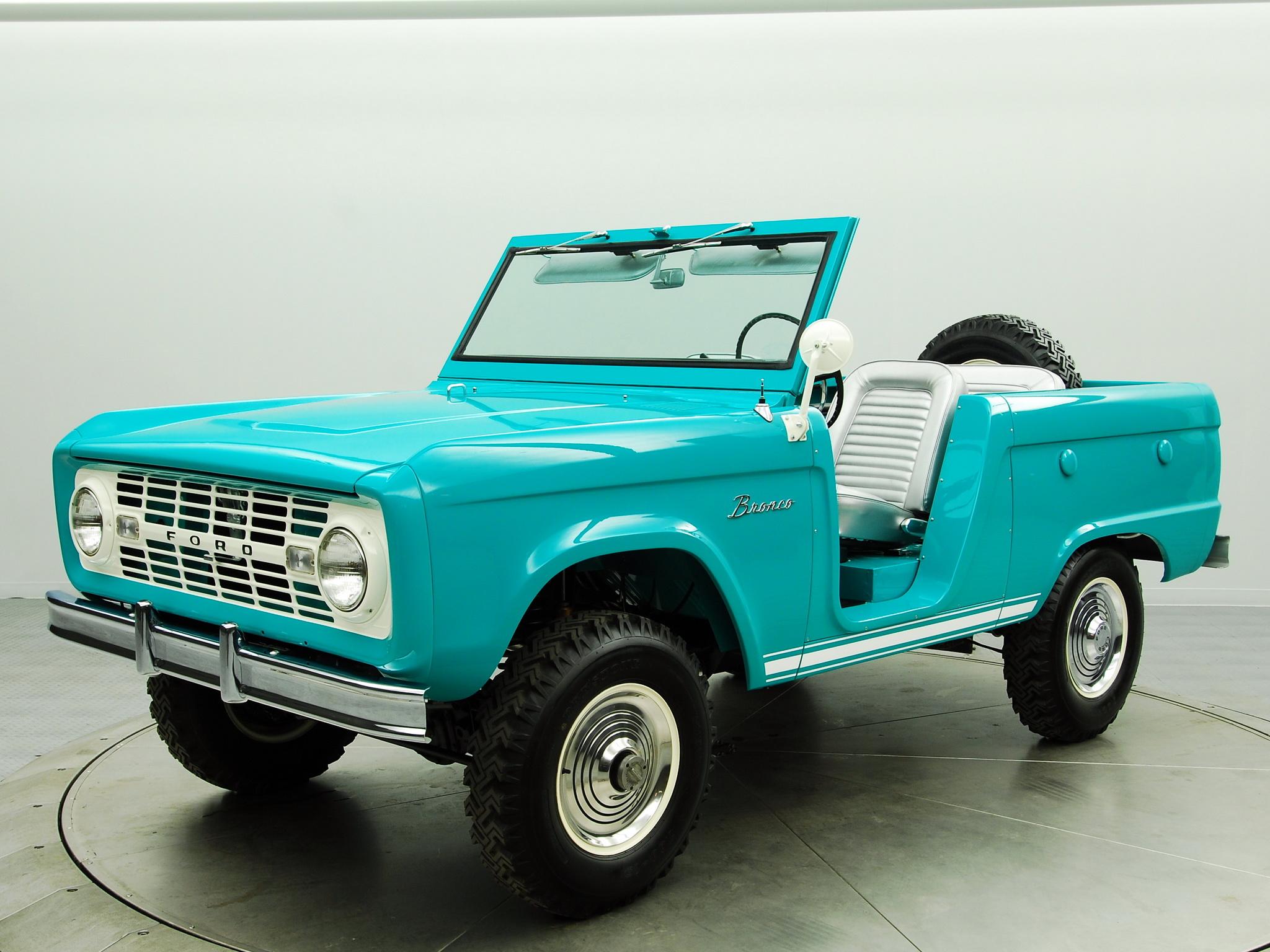El Ford Bronco trasmitió durante cuatro generaciones la idea del indomable modelo americano.