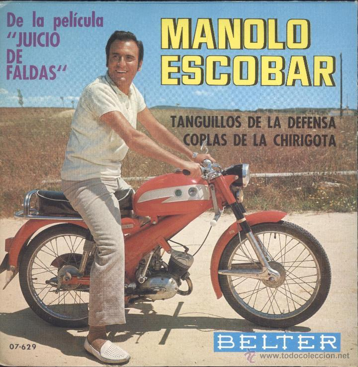 Fue tal el éxito de la Derbi Antorcha, que hasta Manolo Escobar tenia uno de estos míticos ciclomotores, con más de 500.000 unidades vendidas.