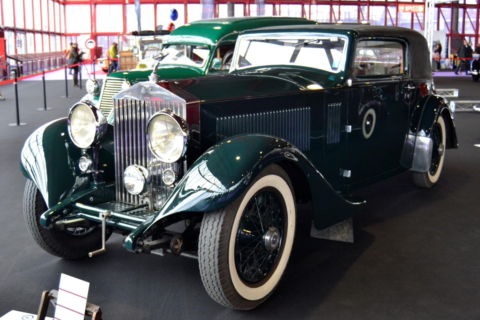 El Rolls-Royce II fue el tercer y ultimo de los modelos 40/50 de la marca, caracterizado por el lujo y la elegancia que tiene Rolls-Royce.