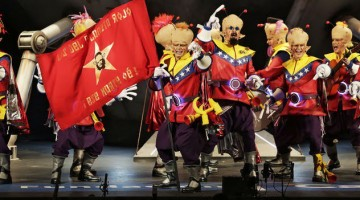 Estos días se celebra en el teatro Falla un nuevo concurso de agrupaciones de carnaval. FOTO: Cádiz Carnaval