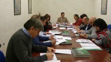 Imagen de la Comisión de Riesgos Laborales que se ha celebrado, esta mañana, en Jaén. FOTO: HORAJAÉN