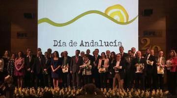 Entrega Banderas Andalucía 24-02-17