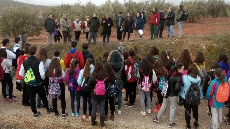Ortega. Día de los Humedales en Alcaudete 03-02-2017