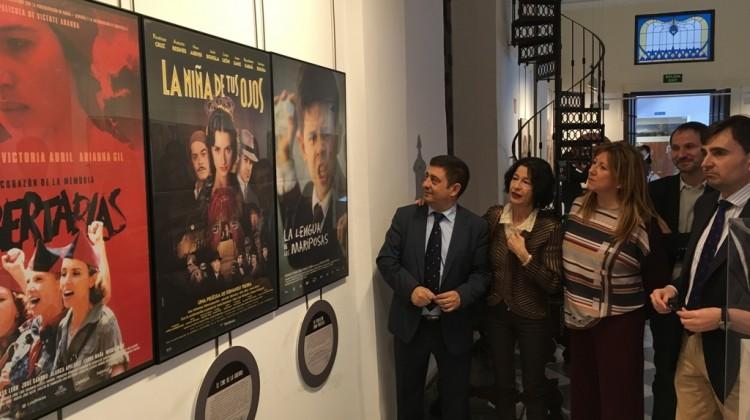 20170315 Inauguración exposición 80 años de cine sobre la Guerra Civil (2)