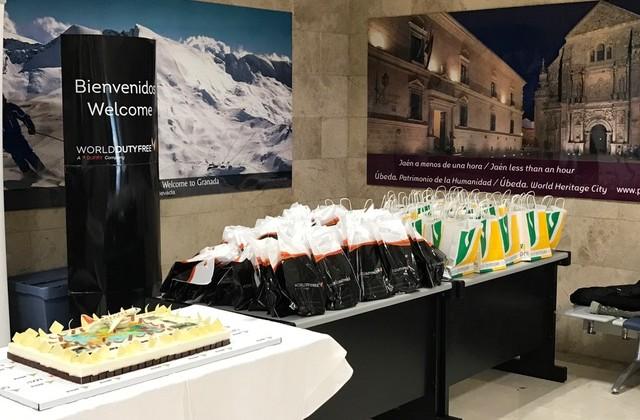 20170326 Primer vuelo conexión Granada-Jaén con Milan 2