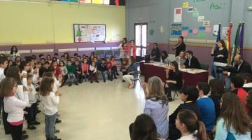 20170328 Celebración 3ª Semana Escolar Cándido Nogales 1