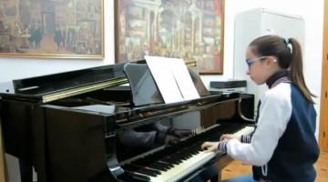 Ana Melero, ganadora del concurso Mi Piano en 2013. FOTO: Diputación de Jaén