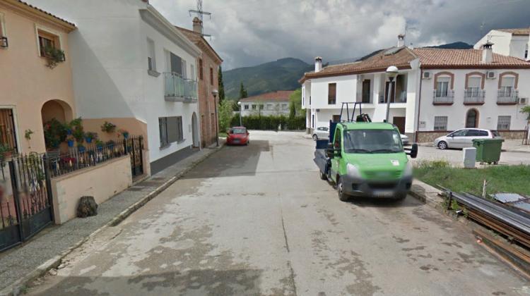Calle Payer de Cortijos Nuevos donde se ha producido el incendio.