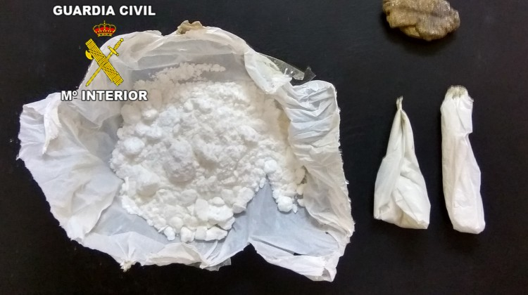 El pasado mes de marzo fue detenido un hombre por la venta de cocaína en La Puerta de Segura.