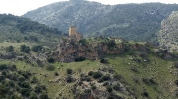 Paraje de Otiñar a pocos kilómetros de Jaén capital.