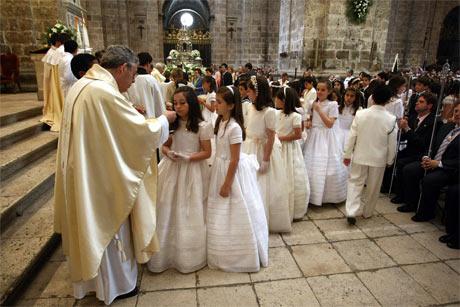 Celebración de la primera comunión. FOTO: Servimedia.