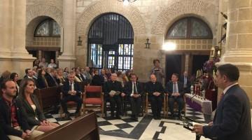 20170406 Iluminación Iglesia de San Pedro en Mengíbar 1