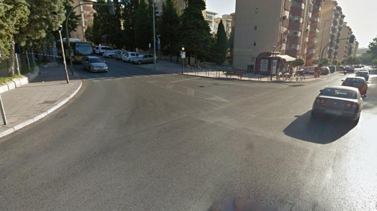 Cruce donde ha ocurrido el accidente.