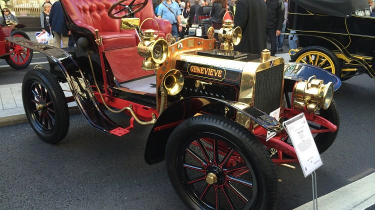 El Darracq francés fue el primer vehículo matriculado en Linares por Ángel Gea Ruiz.