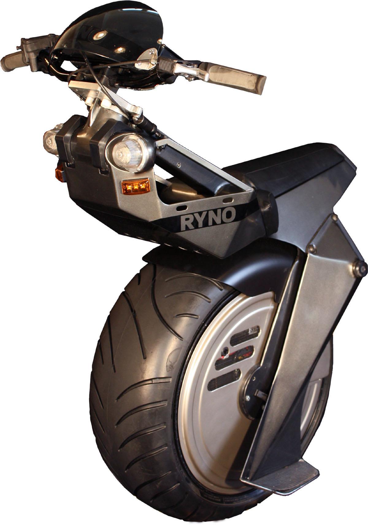 Ryno es el monociclo eléctrico monorueda que conduce como una moto a través de sensores, ideal para la ciudad y lugares de espacios reducidos.