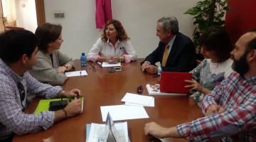 Reunión con Cruz Roja