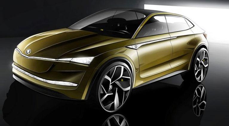 El Skoda Visión E es el primer exponente de la electrificación de la marca a la que se sumaran otros modelos que antes del 2025 tendrá una proporción de uno a cuatro en este segmento limpio.