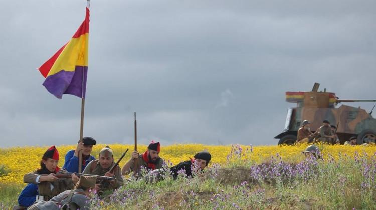 Recreación de la Batalla de Lopera. FOTO: Honores de Batalla