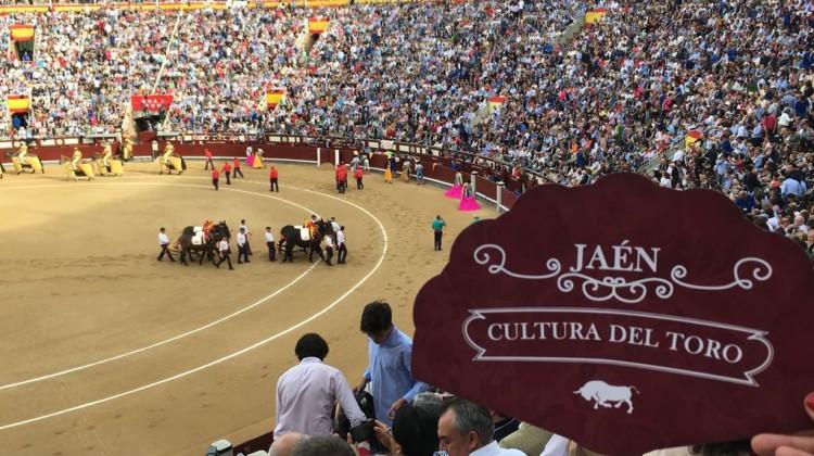 20170515 Acción promocional Jaén, Cultura del Toro en Las Ventas 3