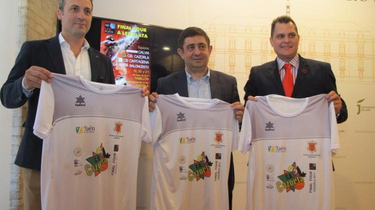 20170518 Final Four a Leb Plata de baloncesto en Cazorla.Camisetas 1