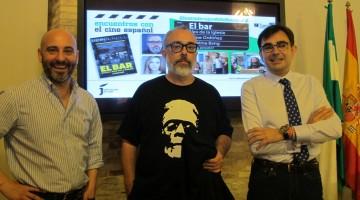 """El director bilbaíno Álex de la Iglesia y el actor malagueño Jaime Ordóñez participaron con su película """"El bar"""" en este aniversario"""