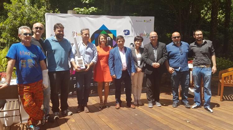 20170531 Presentación de Jaén en Julio en Madrid - foto de familia