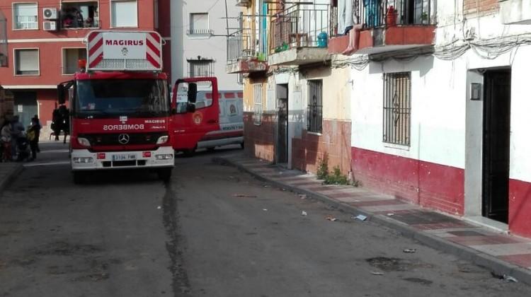 Lugar del suceso. FOTO: Policía Local de Bailén