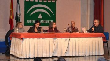 Debate entre los candidatos que optaron a la secretearía general de Podemos Jaén en diciembre de 2014.