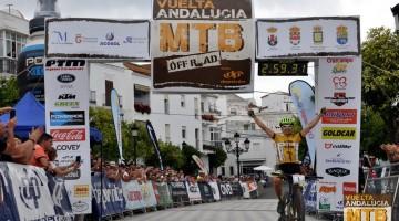 JL Carrasco, ganador de la Vuelta Andalucía MTB 2016 y 2017
