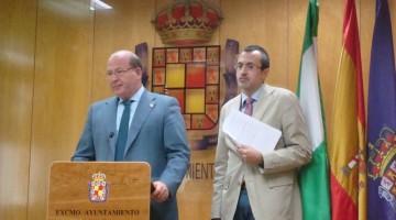 rueda de prensa alcalde sobre liquidación presupuestos