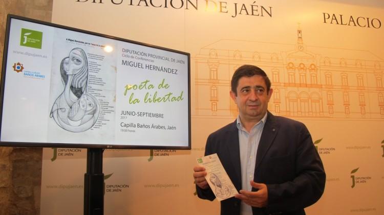 20170602 Presentación ciclo de conferencias de Miguel Hernández 2