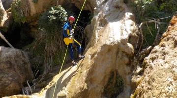 Esta es una de las zonas elegidas para hacer barranquismo en Cazorla.  FOTO: ARCHIVO