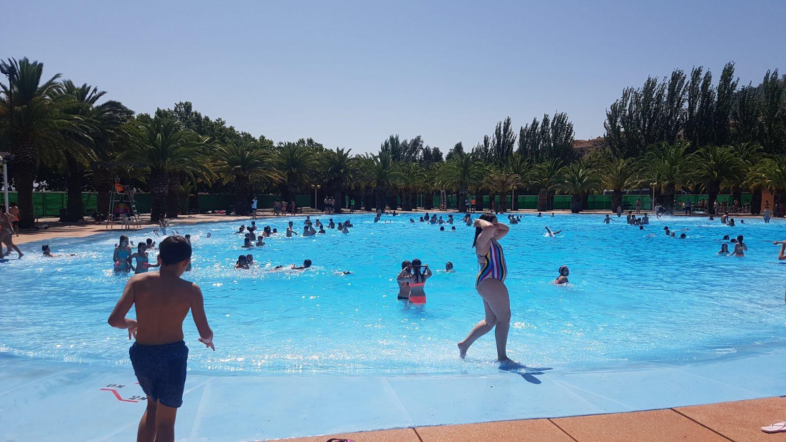 La piscina de las fuentezuelas abre por fin este s bado for Hoteles en jaen con piscina