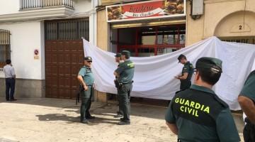 El policía local ha entrado de paisano en el bar y ha matado a otra persona. FOTO: Subdelegación del Gobierno