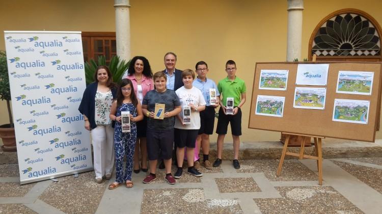 Premiados concurso dibujo Aqualia Jaén 01-06-2017