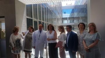 Susana Diaz centro de salud