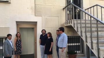 20170710 Reyes visita el centro de la Fundación Proyecto Hombre