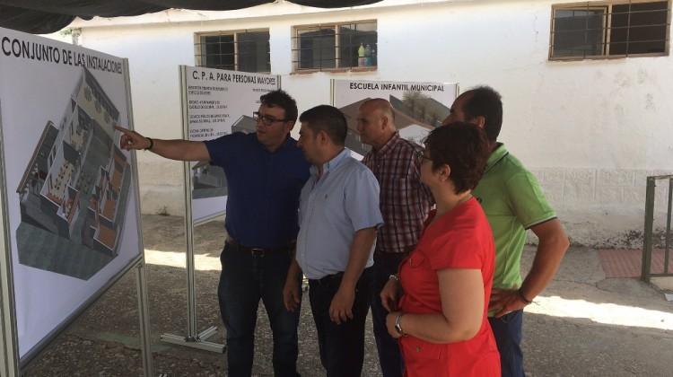 20170717 Visita varias actuaciones en Castillo Locubín 2
