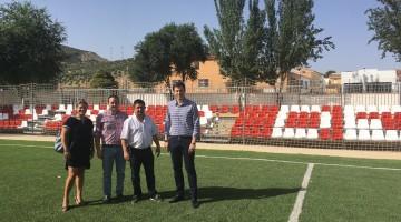 20170718 Visita Campillo de Arenas - campo de fútbol 7